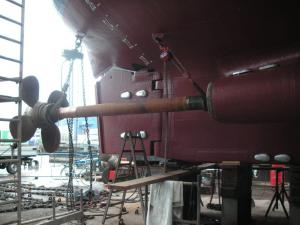 Class renewal and related works for vessels