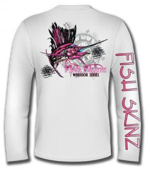 PINK SAILFISH WARRIOR SERIES LONG SLEEVE PERFORMANCE (LADIES)