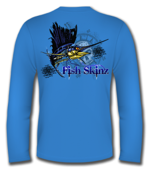 Skeleton Sailfish Long Sleeve