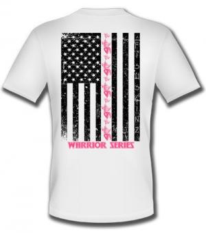 Pink Flag Warrior Series Performance Short Sleeve (Youth)