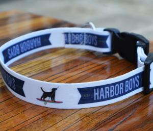 Harbor Boys Dog Collar