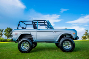 1974 Brittany Blue Classic Ford Bronco