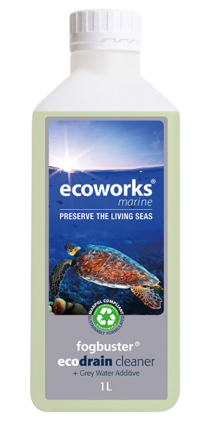 Ecoworks Marine Fogbuster/Holding Tank Treatment and Waste Pipe Cleaner