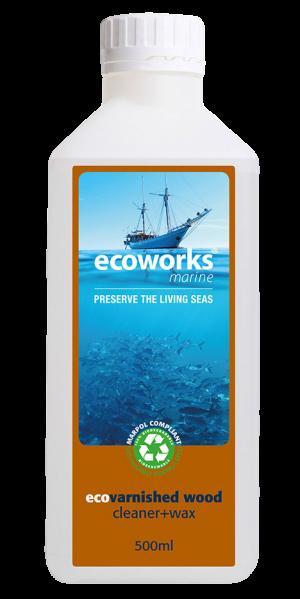 Ecoworks Marine Varnished Wood + Wax