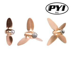 Max prop Easy: 2,3 & 4 blade automatic feathering propellers