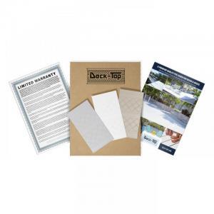 Deck-Top Premium Quality PVC Deck Cover - Sample Kit