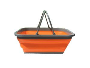Folding Collapsible Basket With Handles 16 Liter 4 Gallon