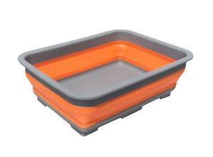 Collapsible Folding Washing Up Bucket Tub Bowl 10 Liter