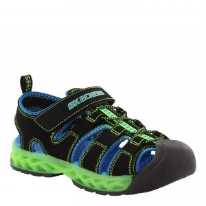 Boy's Skechers, S Lights: Flex - Flow Sandal - Little Kid