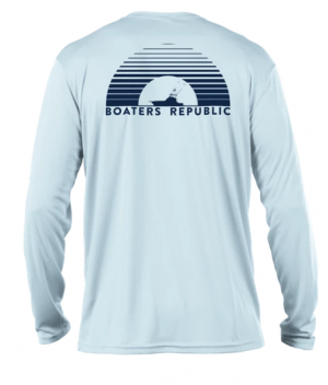 Blue Horizon L/S - Performance Arctic Blue