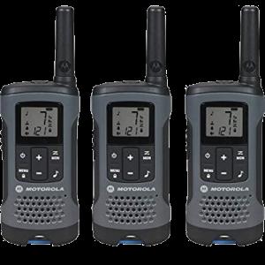 2-Way Radio, 3-Pack, 20Mi., Gray