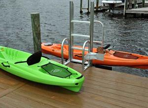 Kayak Launch from Ace Boat Lifts