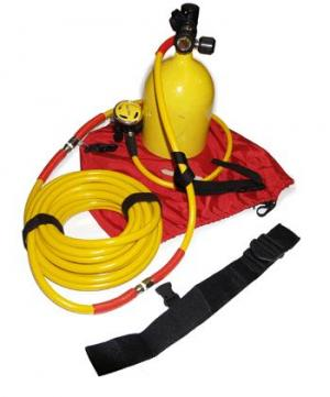 40ft Scuba Hose | Diving Regulator Hose | The Air Line by J Sink