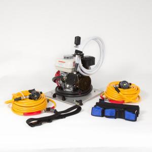 Model RD2100-4 Hookah/Scuba Dive Compressor - Deck Unit