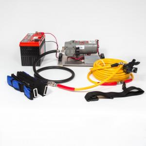 Model 12V160-3 DC Hookah/Scuba Dive System - The Air Line