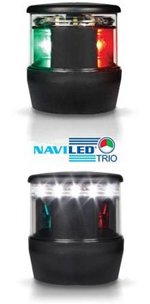 LED Tri-Color with Anchor Lamp | Hella Marine Tri-Color LED