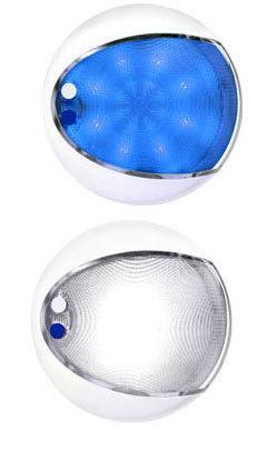 EuroLED Dual-Color White/Blue LED Lamp | Dual-Color