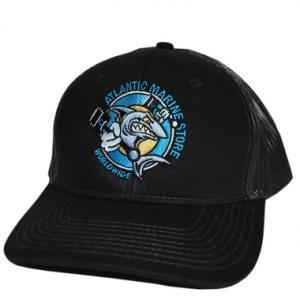 Atlantic Marine Trucker Hat - Black
