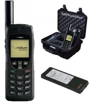 Iridium 9555 Satellite Phone Deluxe Package