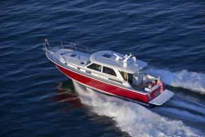 Sabre 45 Salon Express at cruise