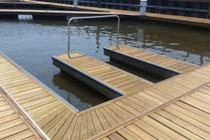 Floating Wood Dock Systems