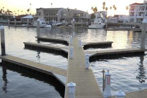 Unideck timber dock system