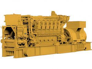 Cat C280-12 Marine Generator Set