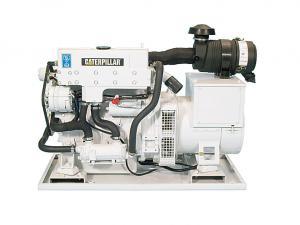 Cat C2.2 Marine Generator Set