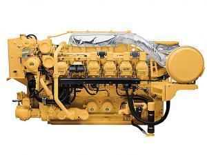 3512C High Displacement Marine Generator Set
