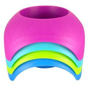 Turtleback Sand Coaster Drink Cup Holder, Assorted Colors, Pack of 4