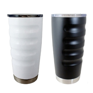 20 oz Boss Big Grip Stainless Steel Tumbler - 2 Pack