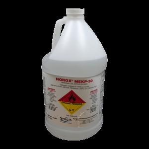 Catalyst, Clear, Norox MEKP-30, reduced strength MEKP-9, Gal 8 lbs - 123978