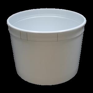 Bucket, Economy, Small, 134 Oz, Plastic Handle - 124749