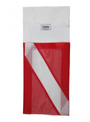 Finholder and More with Dive Flag Facsimile Pocket - Model FHZ 0001 DF