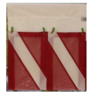 Finholder and More 2 Pocket Dive Flag Facsimile - Model FHZ 0002 DF