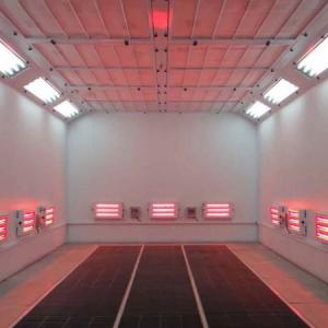 Industrial Spray Booths Suppression Systems