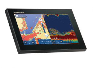 GPS/WAAS CHART PLOTTER with built-in CHIRP FISH FINDER GP-1971F