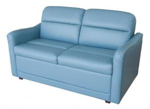 "The Classic 60"" overall Marine Sofa with storage"