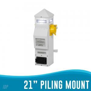"""21"""" Piling Mount Power Pedestal"""