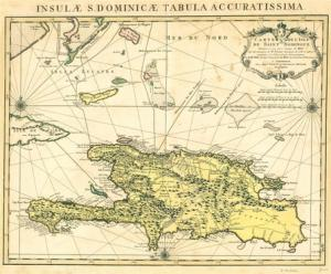 Caribbean Maps | 1722 French Map by Covens