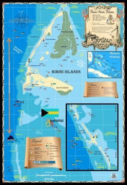 Bahamas Maps | Bimini Islands