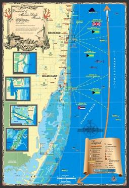 Florida Maps | Broward & Miami-Dade County