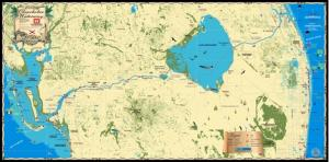 Florida Maps | Okeechobee Waterway Map