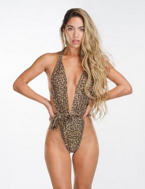Leopard Shelly One Piece