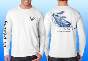 Performance Long Sleeve Shirts : Tuna Performance Long Sleeve