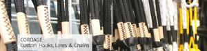 CORDAGE Custom Hooks, Lines & Chains