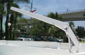 EZ Hydraulic Lay-Down Crane 2500lb/8800lb (1134kg/13991kg)