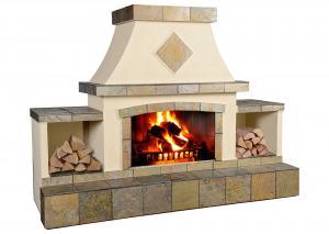 Paradise Fireplace XL