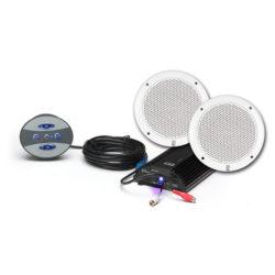 BT Kit 4 – Bluetooth Amp/Control/Speaker Kit for Small Watercraft