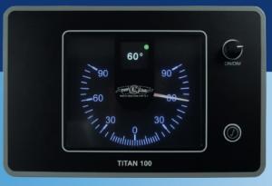 TITAN 100 Rudder angle display
